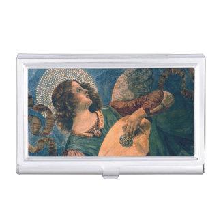 Angel Musician Business Card Holder
