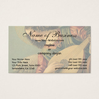 Angel Musician by Melozzo da Forlì Business Card