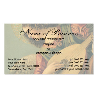 Angel Musician by Melozzo da Forlì Pack Of Standard Business Cards
