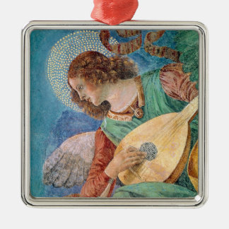 Angel Musician Christmas Ornament