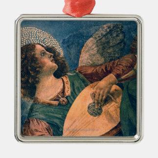 Angel Musician Christmas Ornament