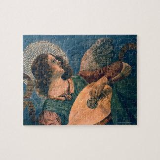 Angel Musician Jigsaw Puzzle