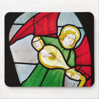 Angel Musician Mouse Pad