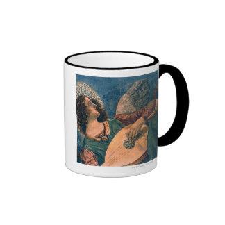 Angel Musician Ringer Mug
