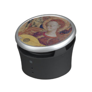 Angel musicians from painting of Virgin and Child Bluetooth Speaker
