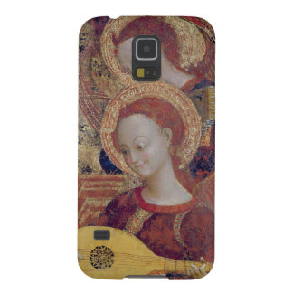 Angel musicians from painting of Virgin and Child Galaxy S5 Cases