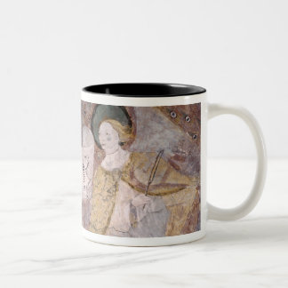 Angel Musicians Two-Tone Coffee Mug