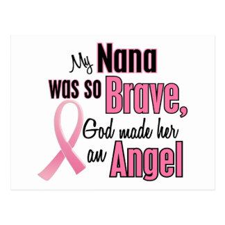 Angel NANA Breast Cancer T-Shirts & Apparel Postcard