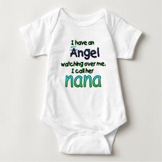 ANGEL NANA.png Baby Bodysuit