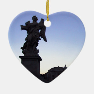 ANGEL NEAR VATICAN, ON PONTE SANT' ANGELO CHRISTMAS ORNAMENT