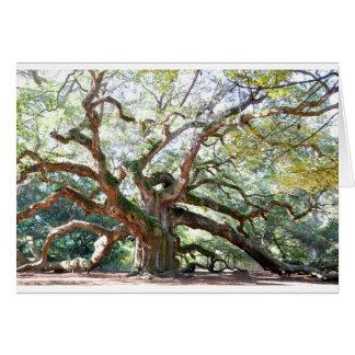 Angel Oak Tree Gifts Card