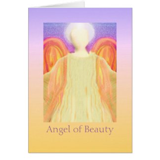 Angel of Beauty Card