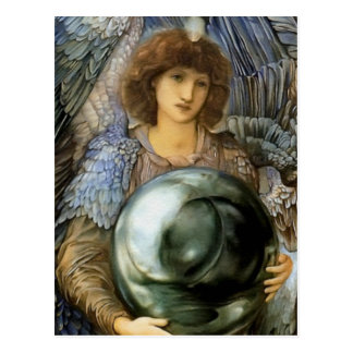 Angel of Creation by William Burne-Jones Postcard