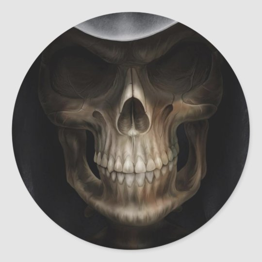 Angel of Death Classic Round Sticker