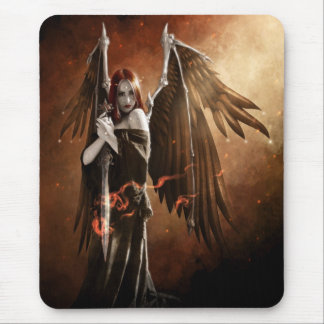 Angel of Death Mouse Pad