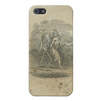 Angel of Death with Skeleton iPhone 5/5S Cases
