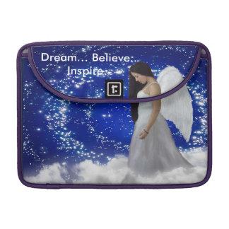 """Angel of Faith Macbook Pro 13"""" sleeve"""