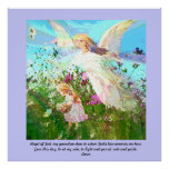 Angel of God, my guardian dear. Print