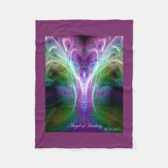 Angel of Healing Fleece Blanket