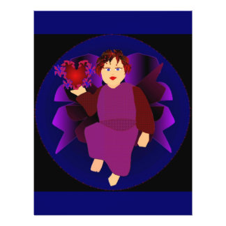 Angel Of Hearts III Custom Flyer