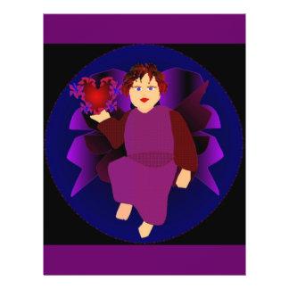 Angel Of Hearts V 21.5 Cm X 28 Cm Flyer