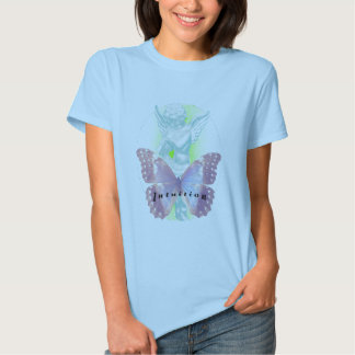 ANGEL OF INTUITION BABY BLUE T-SHIRT