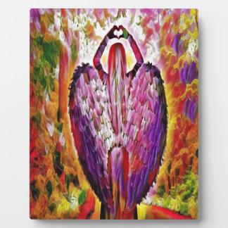 angel of love plaque