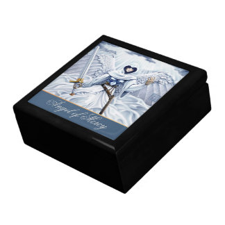 Angel of Mercy Large Square Gift Box