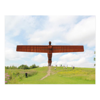 Angel Of North Postcard