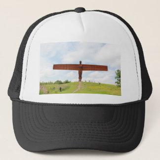 Angel Of North Trucker Hat