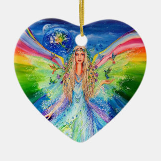 Angel of Peace Christmas Ornament