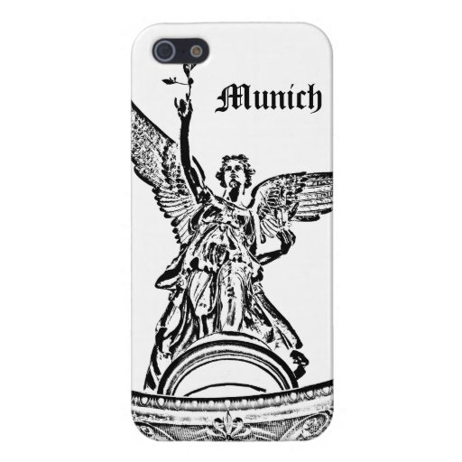 Angel of Peace in Munich Cases For iPhone 5