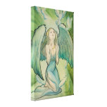Angel of Peace Stretched Canvas Print