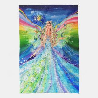 Angel of Peace Tea Towel
