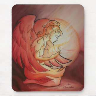 Angel of Spirit Mouse Pad