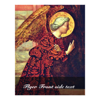 Angel Of The Annunciation By Masolino (Best Qualit Personalized Flyer