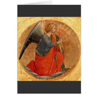 Angel of the Annunciation c1437 Card