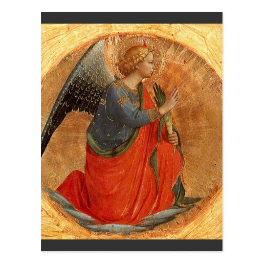 Angel of the Annunciation c1437 Postcard