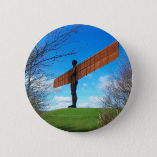 Angel of the North 6 Cm Round Badge