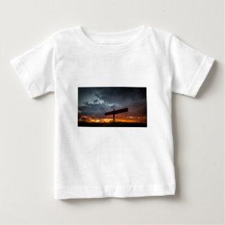 Angel Of The North Baby Tee Shirt