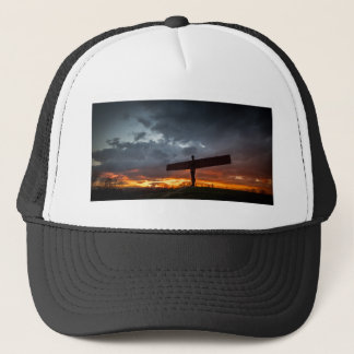 Angel Of The North Cap/Hat Trucker Hat