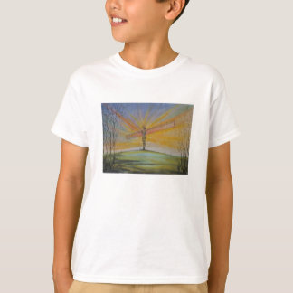 Angel of the North England Kids Tee Shirt
