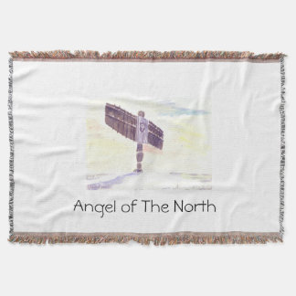 Angel of the North Throw blanket