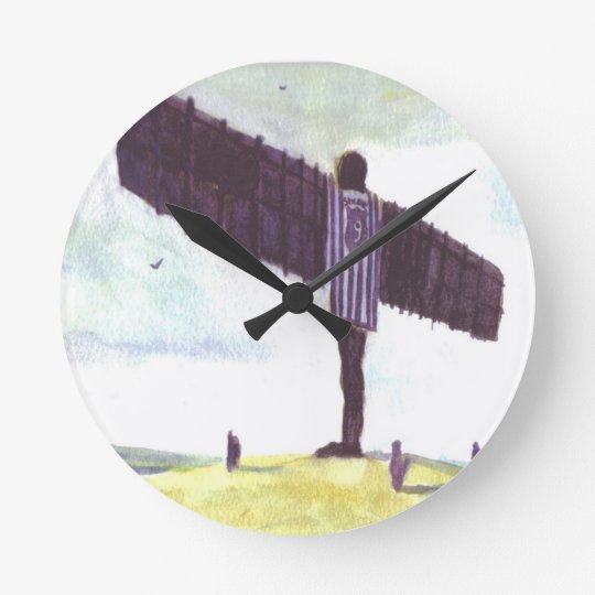 Angel of the North Wall Clock