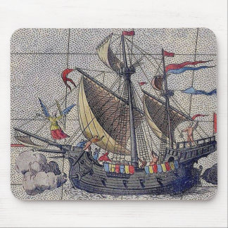 Angel of the Seas Mouse Mat