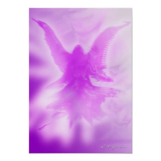 Angel of the violet ray poster