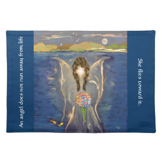 Angel On The Water American MoJo Pillow Placemat