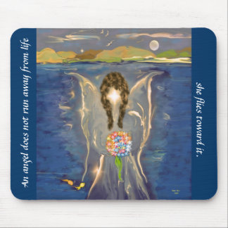 Angel On The Water Mouse Mat