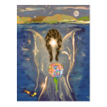 Angel On The Water Postcard