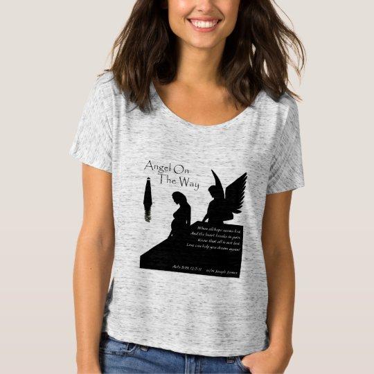 Angel On The Way Women's Slouchy Boyfriend T-Shirt